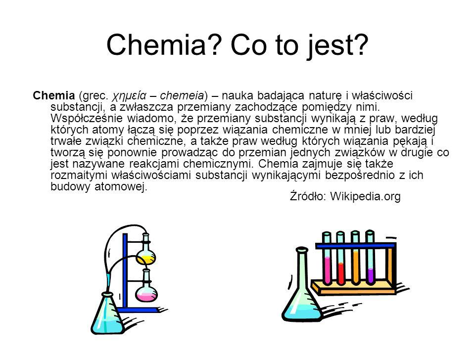 Chemia Co to jest