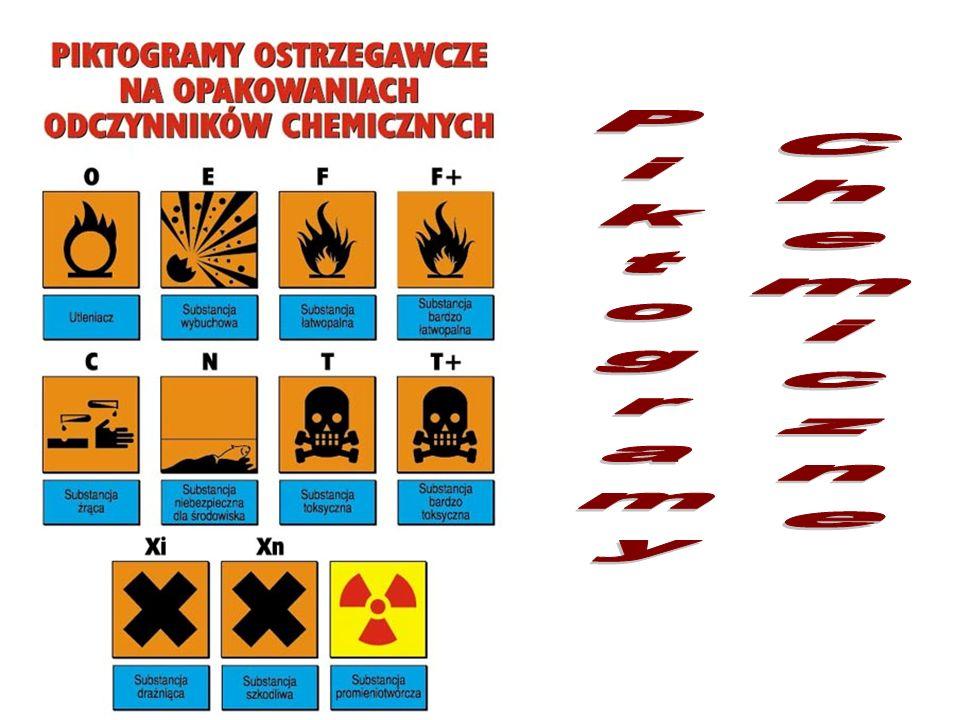 Chemiczne Piktogramy