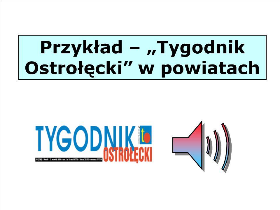 """Przykład – """"Tygodnik Ostrołęcki w powiatach"""