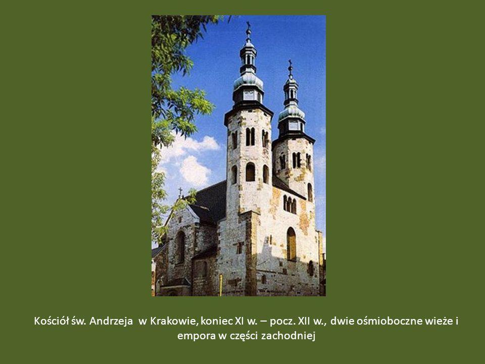 Kościół św. Andrzeja w Krakowie, koniec XI w. – pocz. XII w
