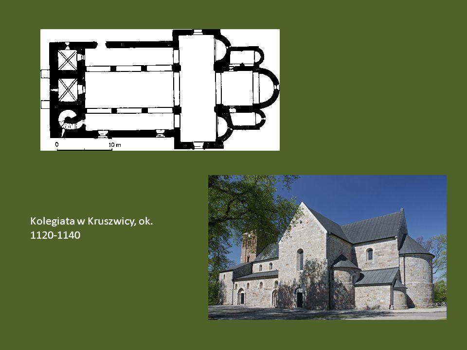 Kolegiata w Kruszwicy, ok. 1120-1140