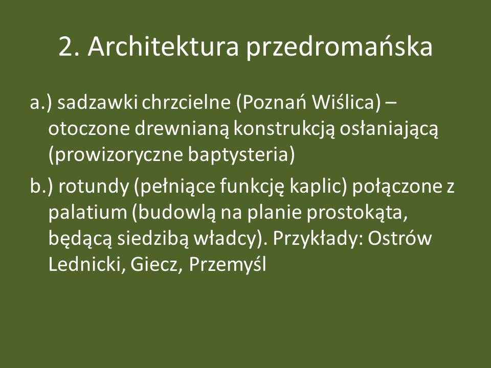 2. Architektura przedromańska