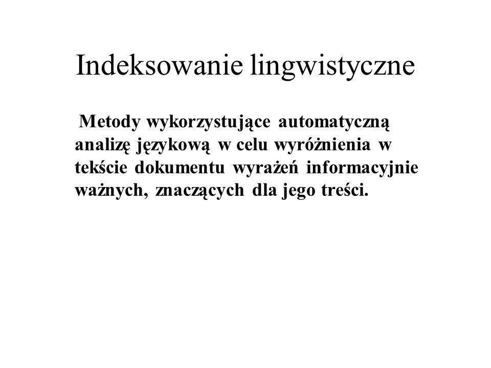 Indeksowanie lingwistyczne