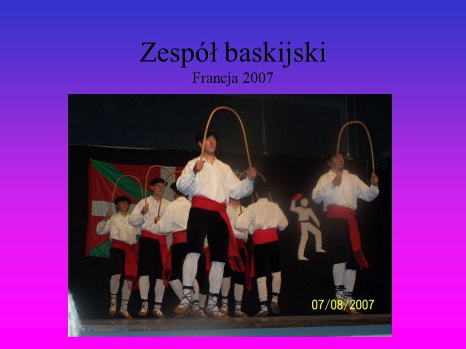 Zespół baskijski Francja 2007