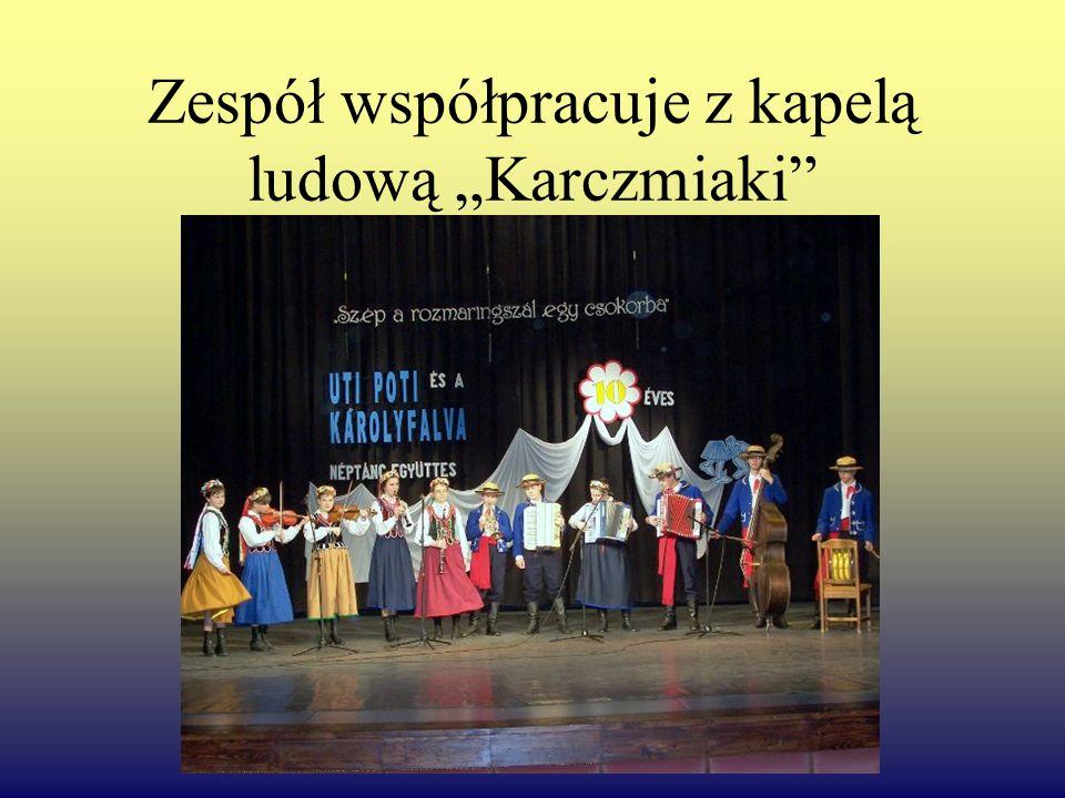 """Zespół współpracuje z kapelą ludową """"Karczmiaki"""