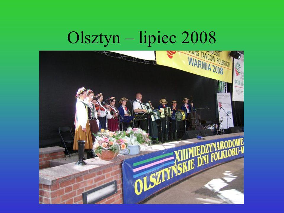Olsztyn – lipiec 2008