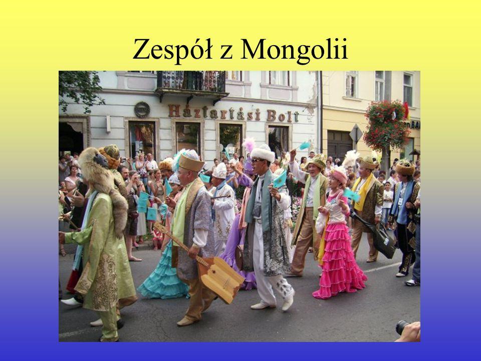 Zespół z Mongolii