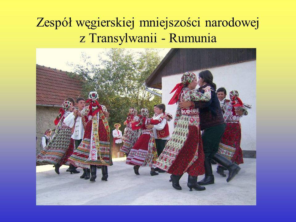 Zespół węgierskiej mniejszości narodowej z Transylwanii - Rumunia