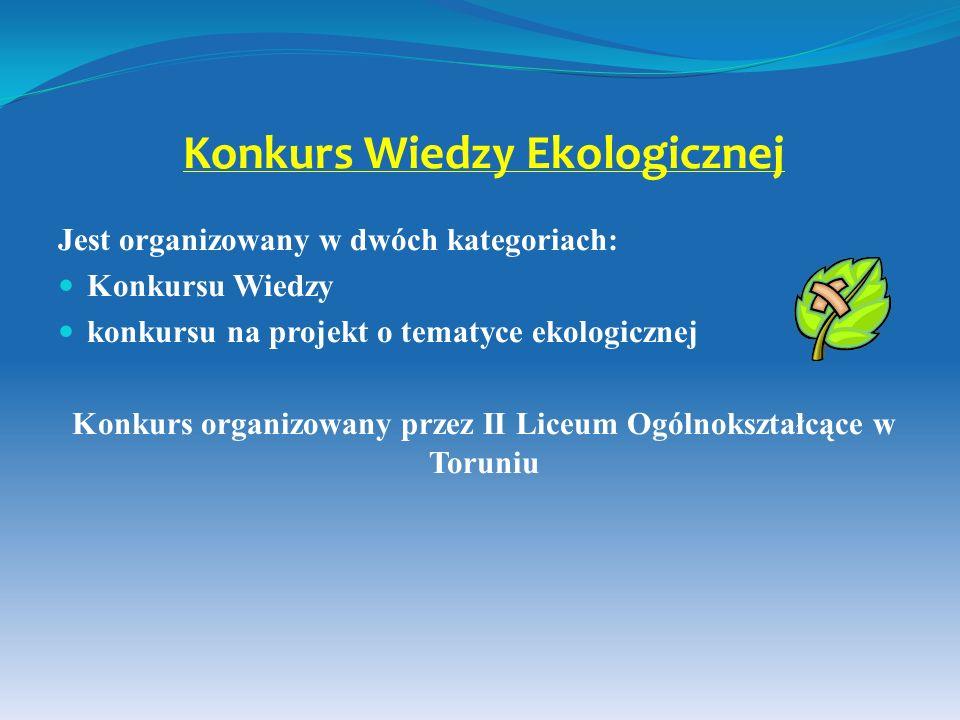 Konkurs Wiedzy Ekologicznej