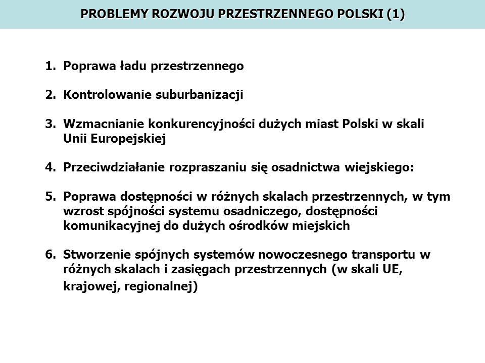 PROBLEMY ROZWOJU PRZESTRZENNEGO POLSKI (1)