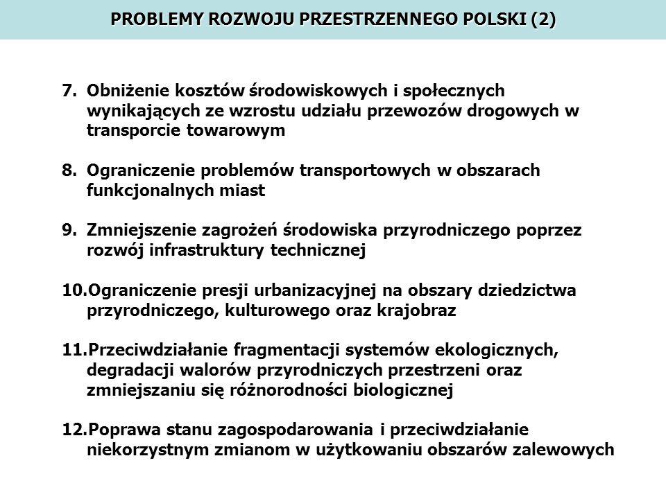 PROBLEMY ROZWOJU PRZESTRZENNEGO POLSKI (2)
