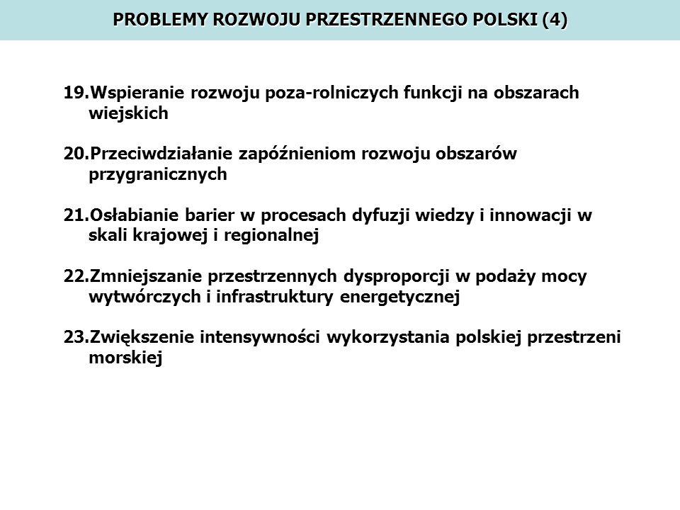 PROBLEMY ROZWOJU PRZESTRZENNEGO POLSKI (4)