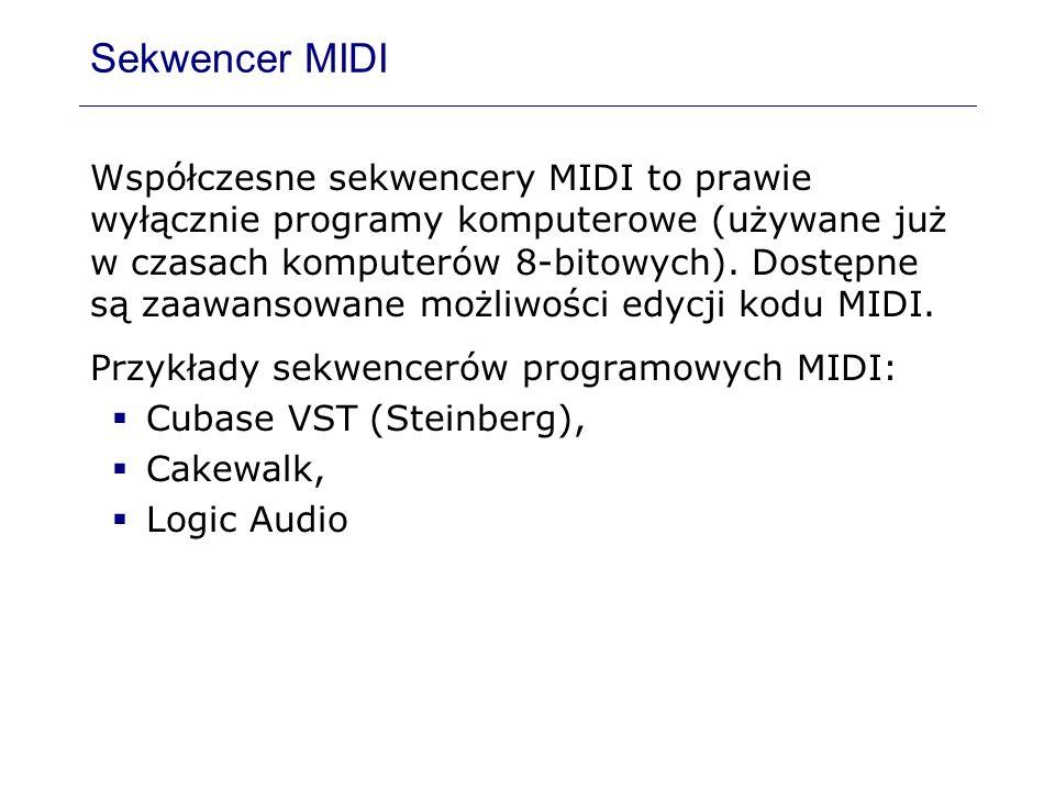 Sekwencer MIDI