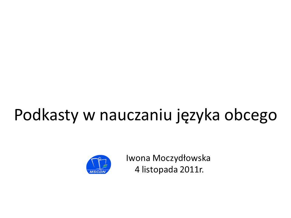 Iwona Moczydłowska 4 listopada 2011r.