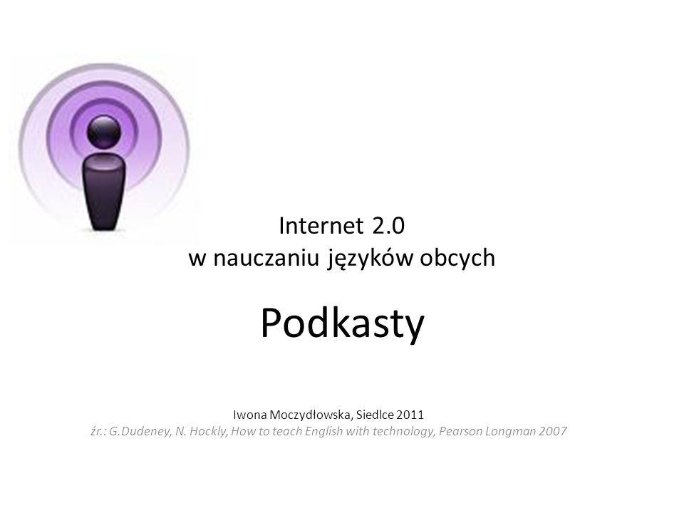 Internet 2.0 w nauczaniu języków obcych