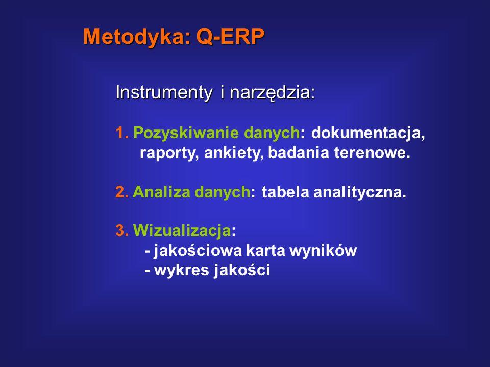 Metodyka: Q-ERP Instrumenty i narzędzia: