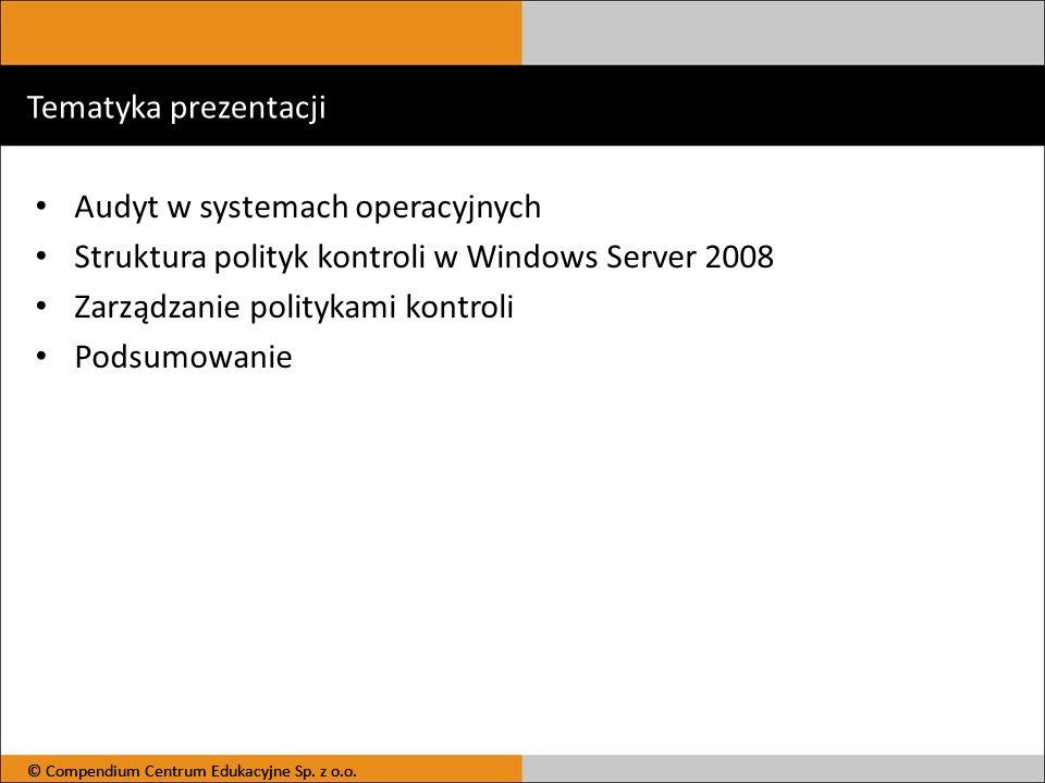Audyt w systemach operacyjnych