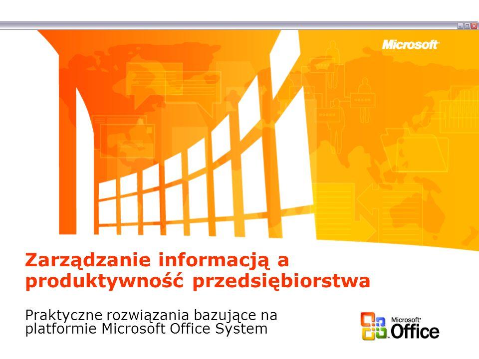 Zarządzanie informacją a produktywność przedsiębiorstwa