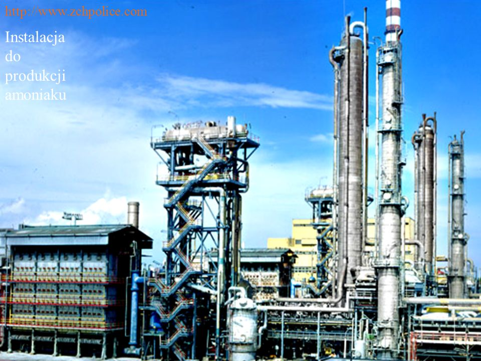 Instalacja do produkcji amoniaku