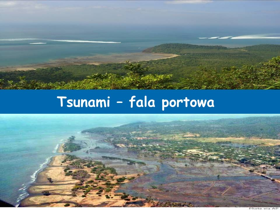 Tsunami – fala portowa