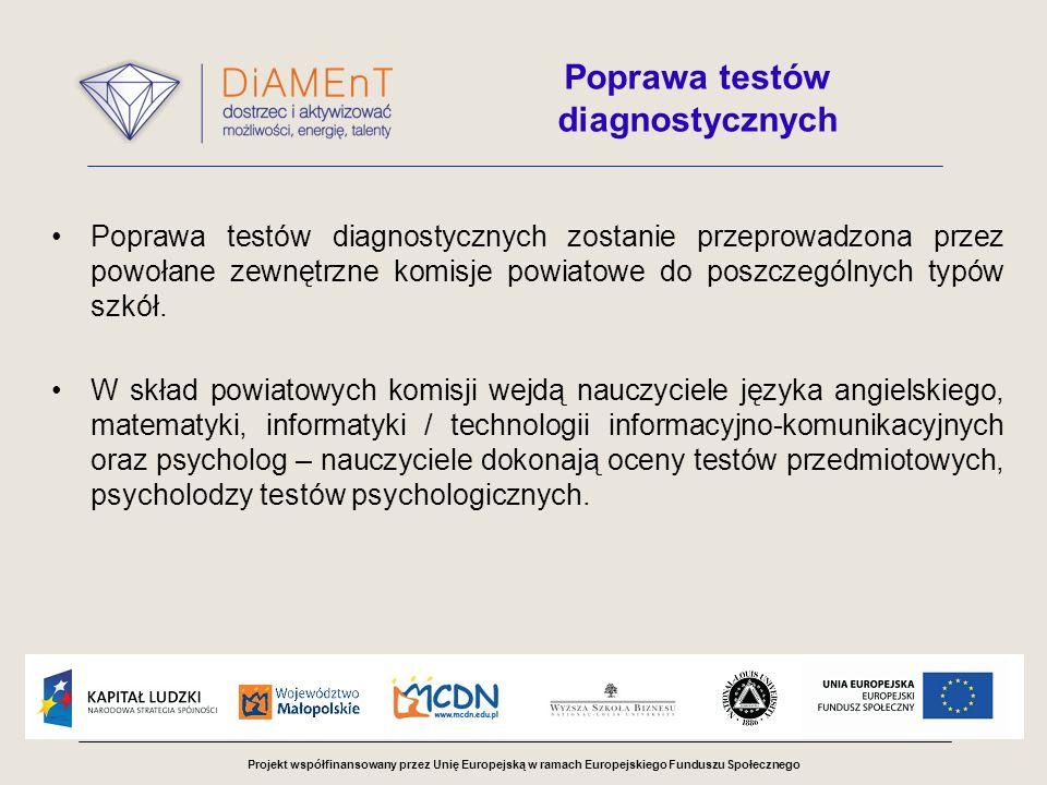Poprawa testów diagnostycznych