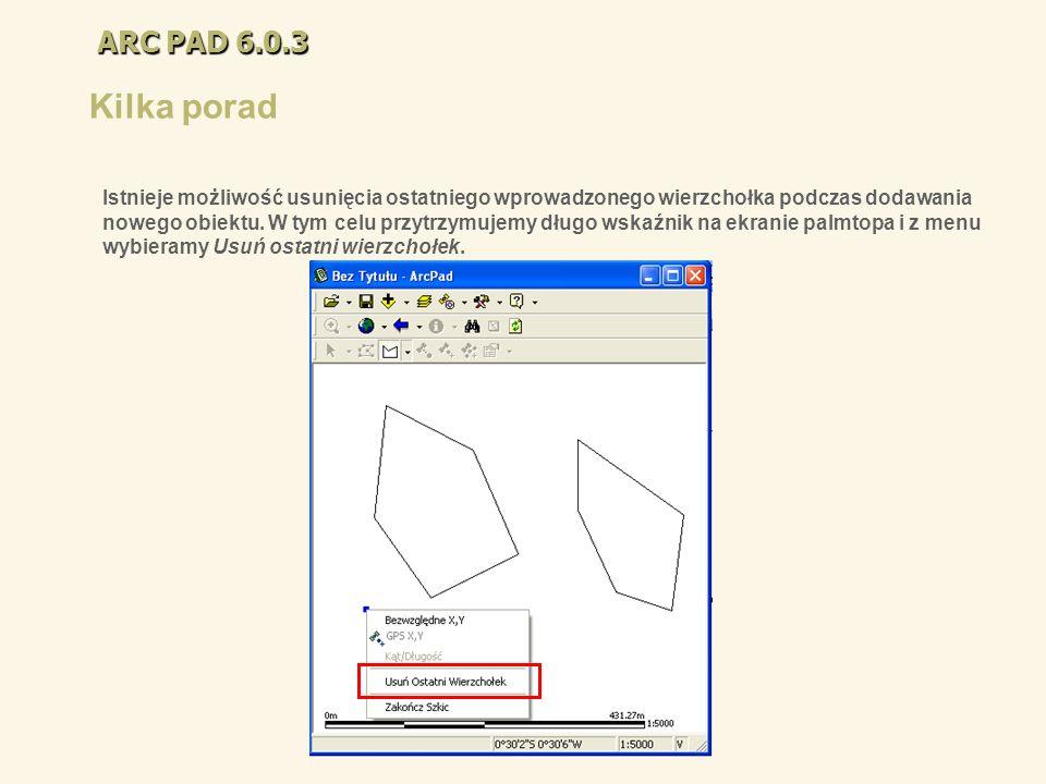 ARC PAD 6.0.3Kilka porad.
