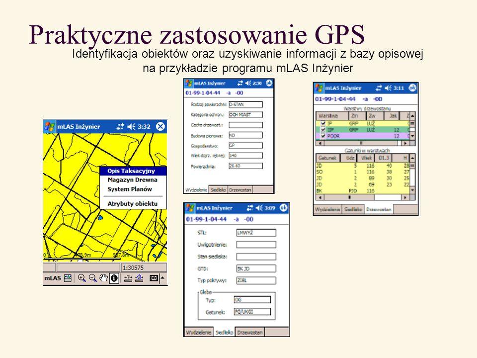 Praktyczne zastosowanie GPS