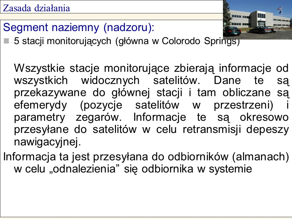 Segment naziemny (nadzoru):