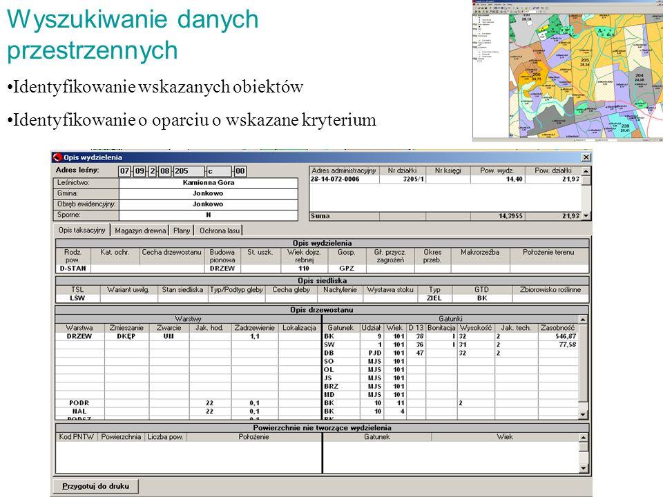 Wyszukiwanie danych przestrzennych