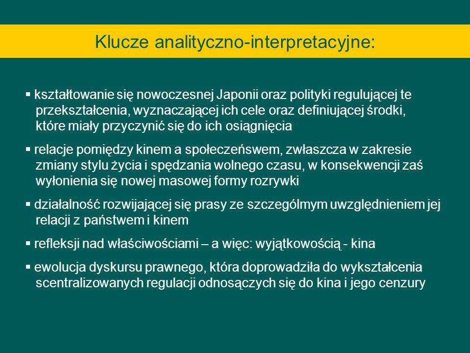 Klucze analityczno-interpretacyjne: