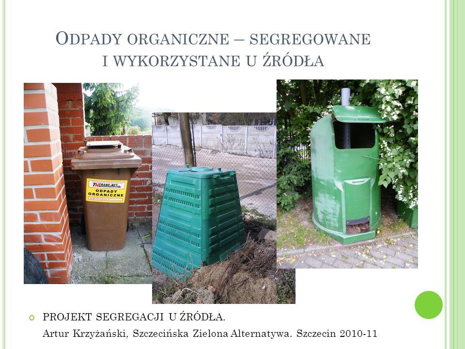 Odpady organiczne – segregowane i wykorzystane u źródła