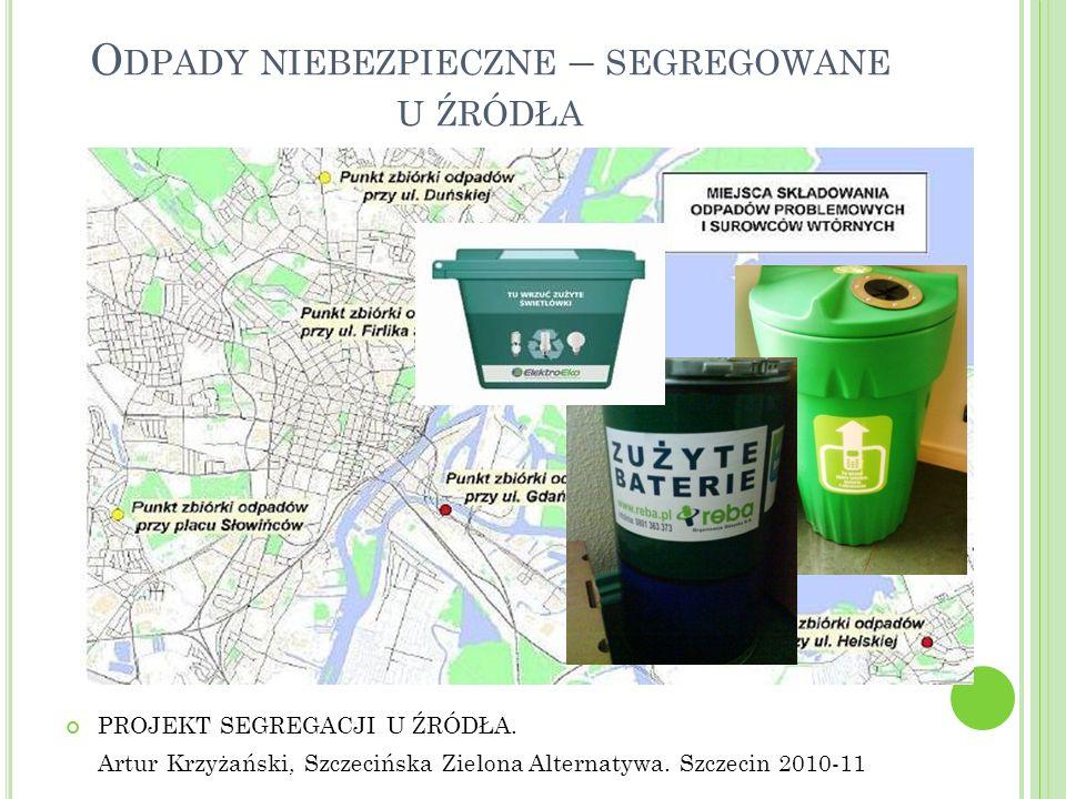 Odpady niebezpieczne – segregowane u źródła