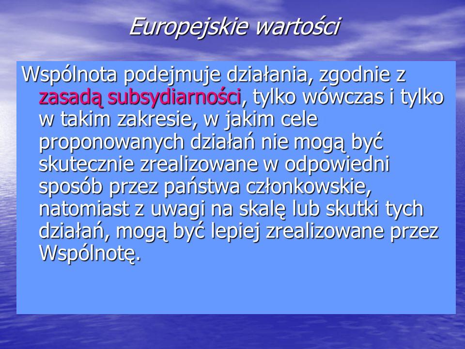 Europejskie wartości