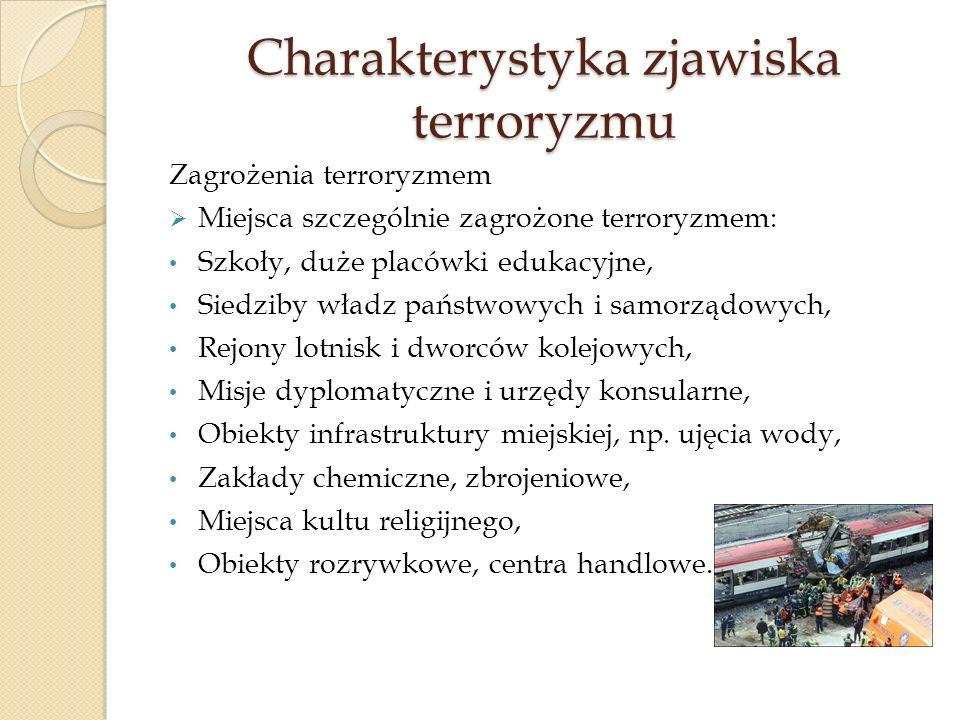 Charakterystyka zjawiska terroryzmu