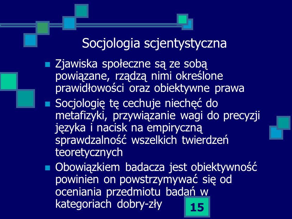 Socjologia scjentystyczna