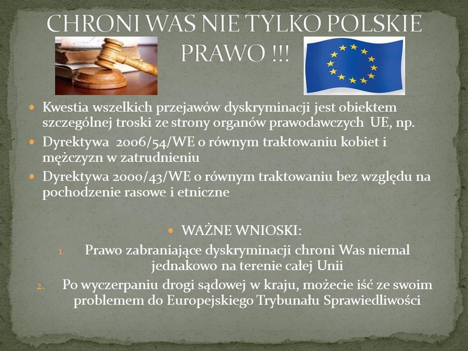 CHRONI WAS NIE TYLKO POLSKIE PRAWO !!!