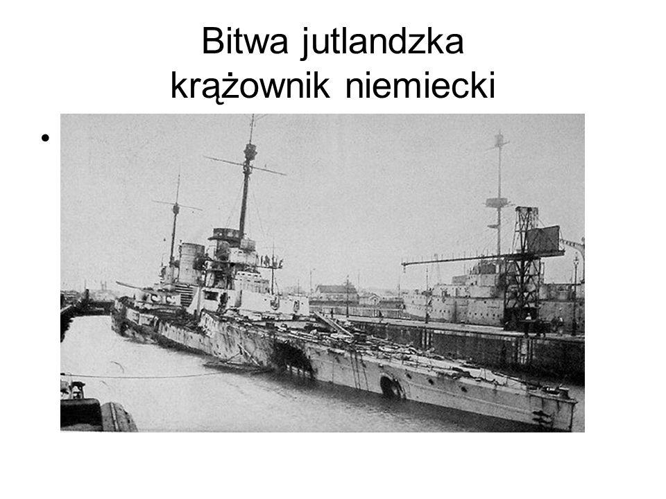 Bitwa jutlandzka krążownik niemiecki