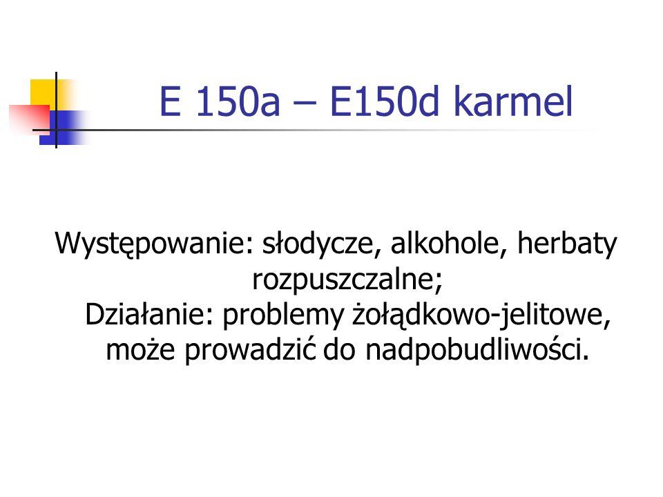 E 150a – E150d karmel