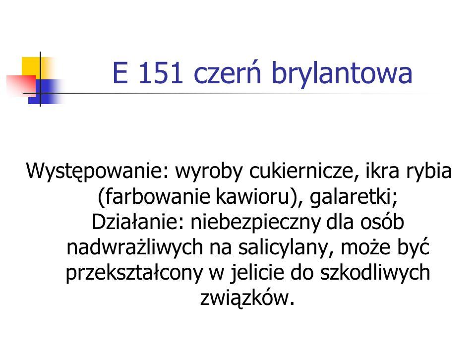 E 151 czerń brylantowa