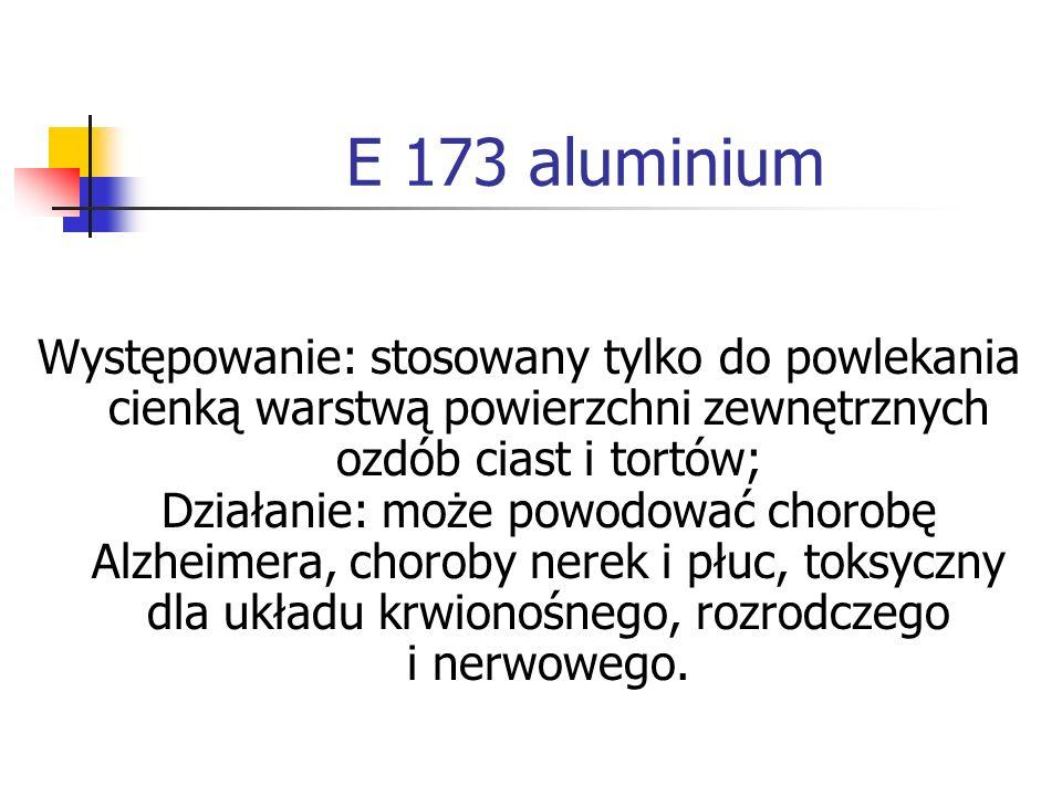 E 173 aluminium