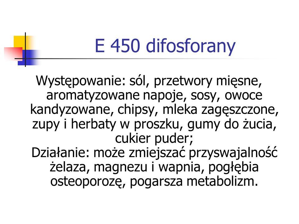 E 450 difosforany