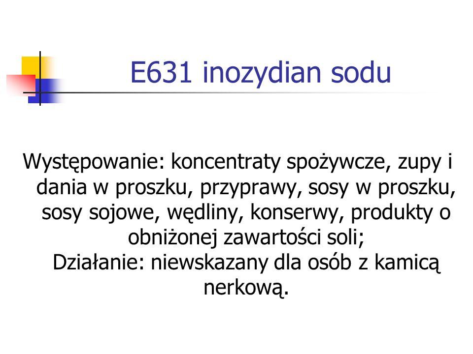 E631 inozydian sodu