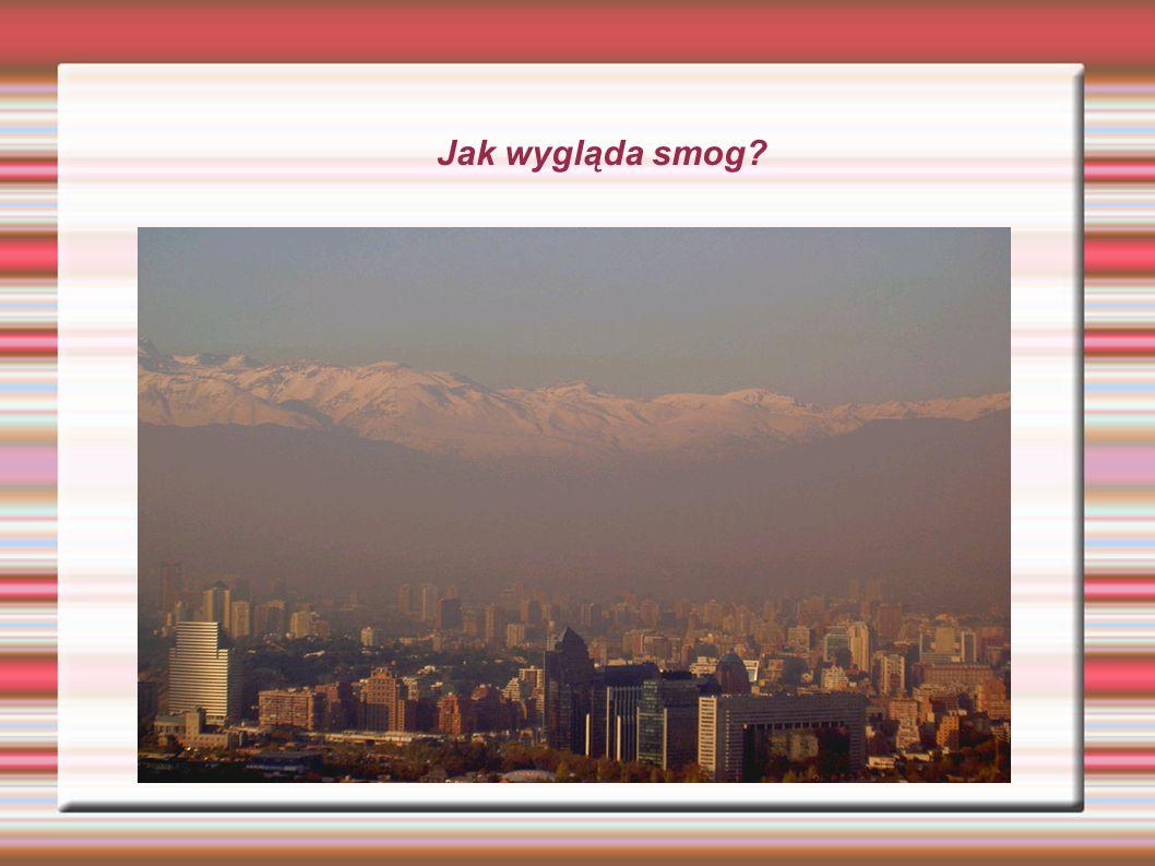 Jak wygląda smog