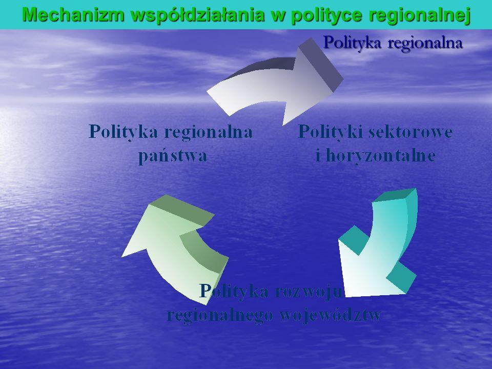 Mechanizm współdziałania w polityce regionalnej