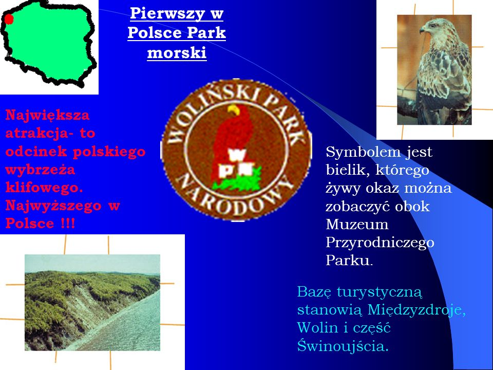 Pierwszy w Polsce Park morski