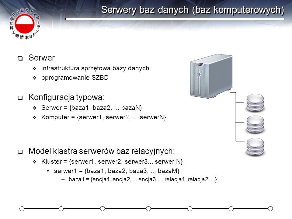 Serwery baz danych (baz komputerowych)
