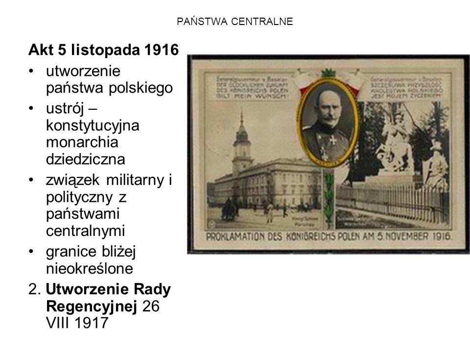 utworzenie państwa polskiego