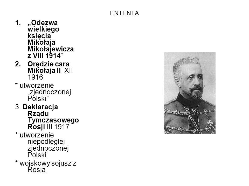 """""""Odezwa wielkiego księcia Mikołaja Mikołajewicza z VIII 1914"""