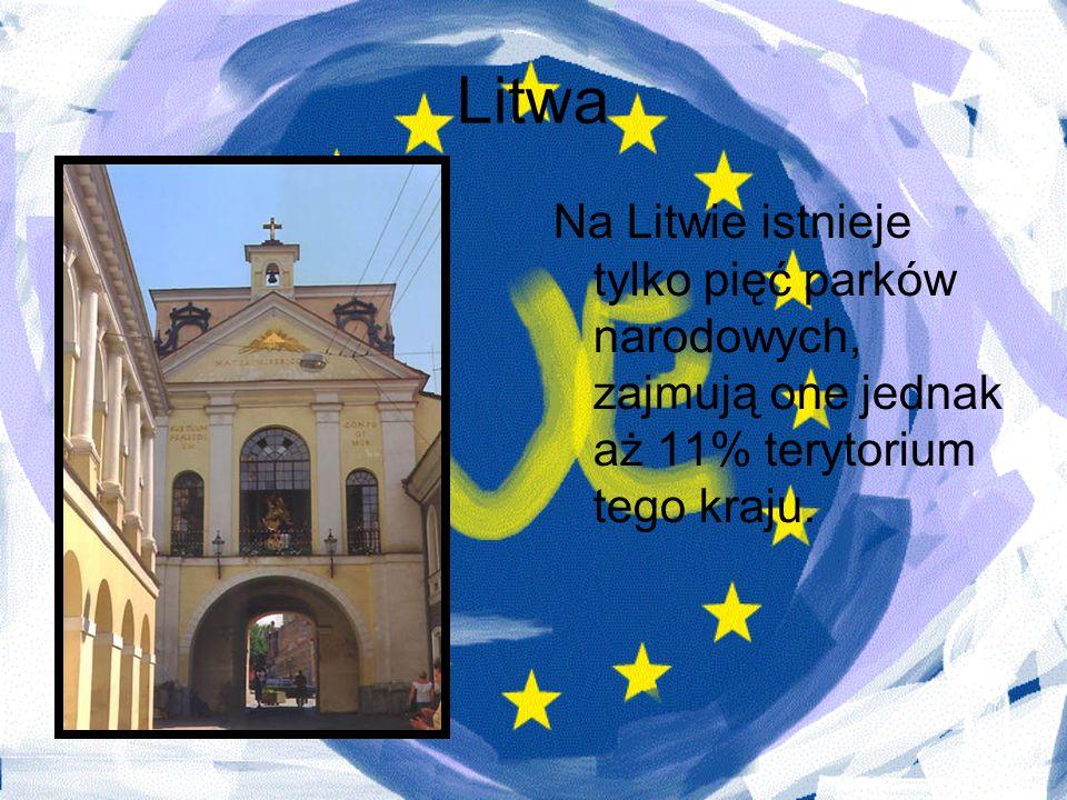 Litwa Na Litwie istnieje tylko pięć parków narodowych, zajmują one jednak aż 11% terytorium tego kraju.