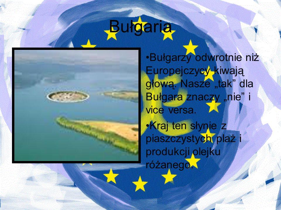 """Bułgaria Bułgarzy odwrotnie niż Europejczycy kiwają głową. Nasze """"tak dla Bułgara znaczy """"nie i vice versa."""